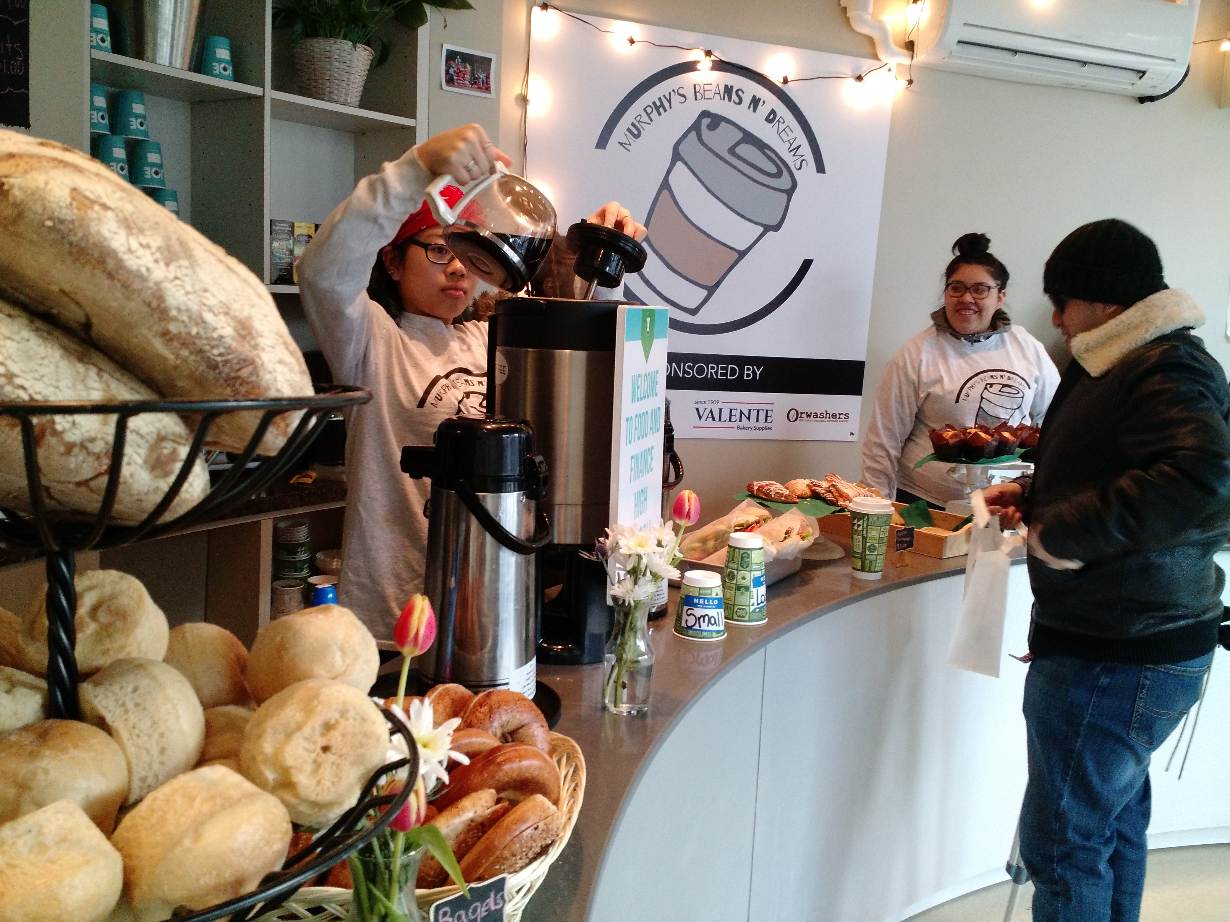 Food Finance High School Coffee Shop A Winner Rudofsky Associates